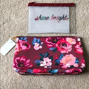 Handbags - New makeup bag and matching pouch